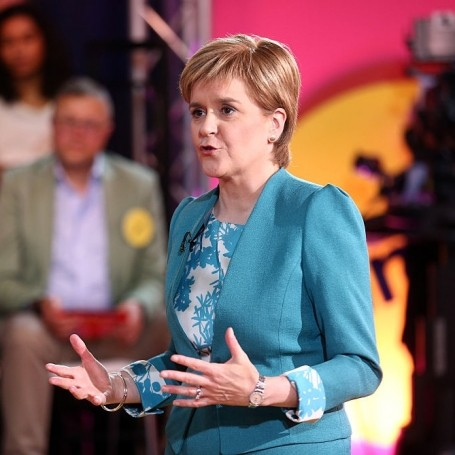 Nicola Sturgeon calls for a second Scottish referendum