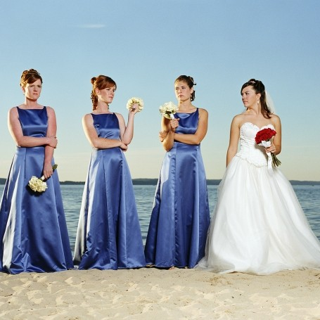 Bride demands bridesmaids help pay for her wedding dress