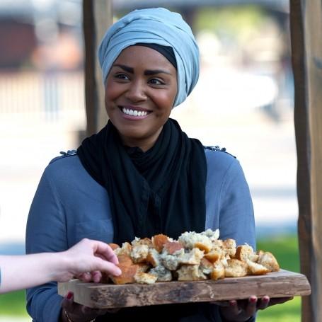 Nadiya Hussain talks baking and family life