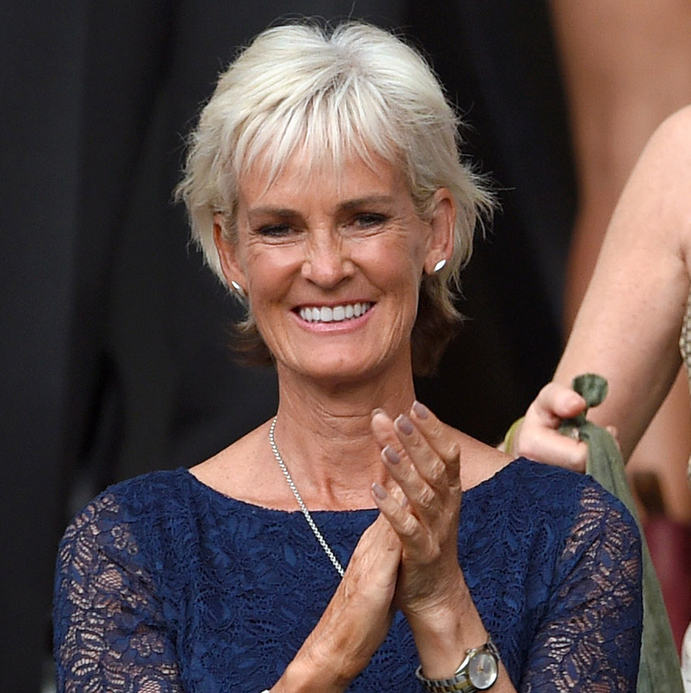 10 Minutes With Judy Murray Talking Point Red Online