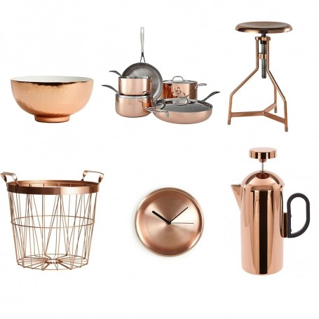 How to get the copper look in the home