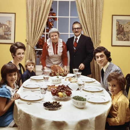 Here's 100 Years of Family Dinners in Just 3 Minutes