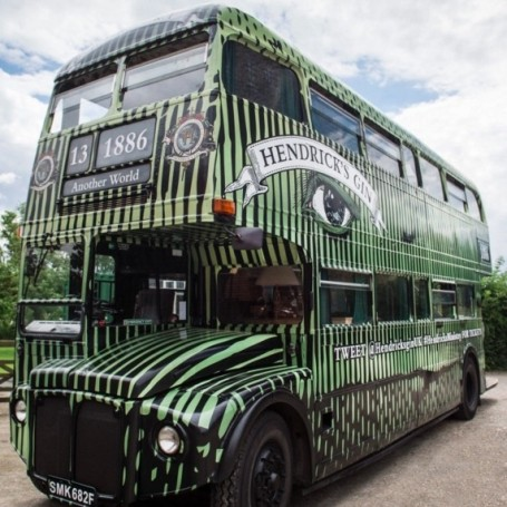 The gin bus is coming!