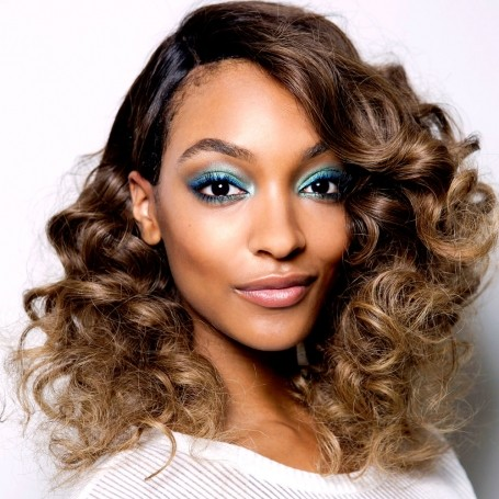 How to wear blue make-up without looking like an 80's throwback