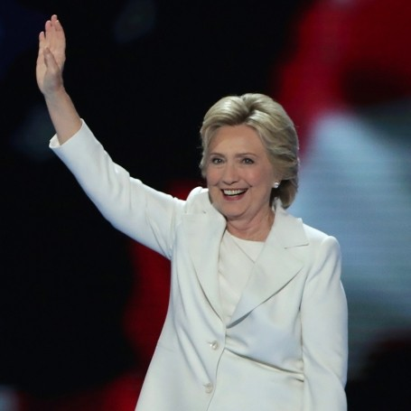 Hillary Clinton accepts Democratic Party nomination