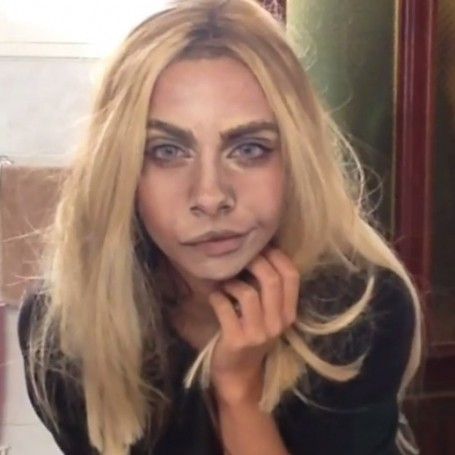 Beauty blogger transforms her face to look like Cara Delevigne