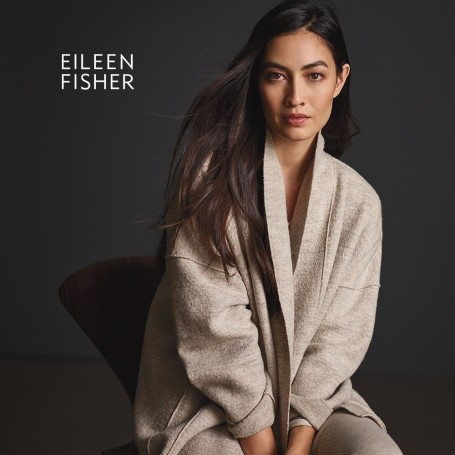 Simplify your life and your wardrobe with Vicky Silverthorn at Eileen Fisher