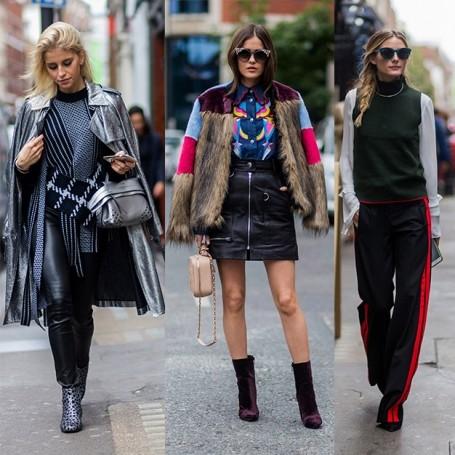 London Fashion Week SS17: the best street style looks