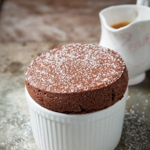 Chocolate and Orange Souffle