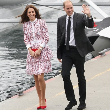 Kate Middleton wears Alexander McQueen as the royal family tour Canada