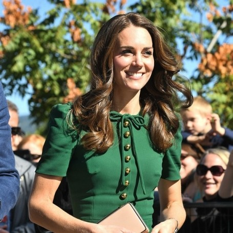 Kate Middleton wears Dolce & Gabbana as the Royal Family tour of Canada continues