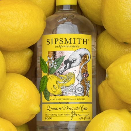 Someone has invented lemon drizzle gin