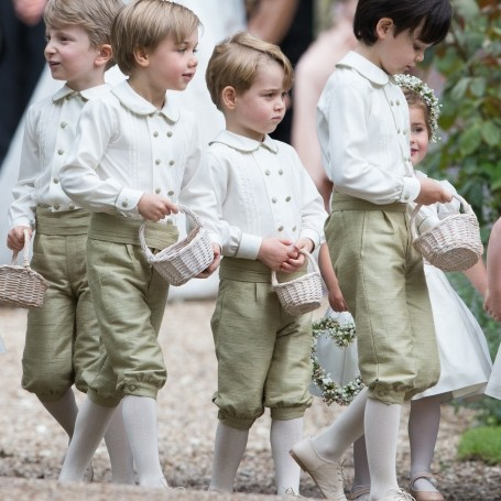 Why Prince George is always wearing shorts…