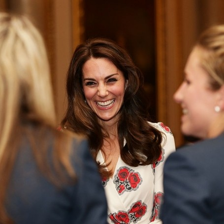 Kate Middleton steps out in a beautiful floral dress
