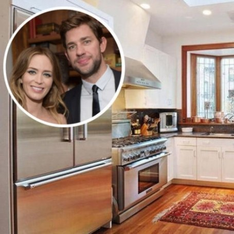 Inside John Krasinski and Emily Blunt's £5 million Brooklyn home