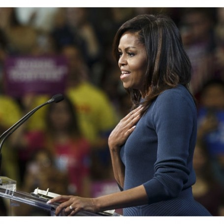 See Michelle Obama take down Trump
