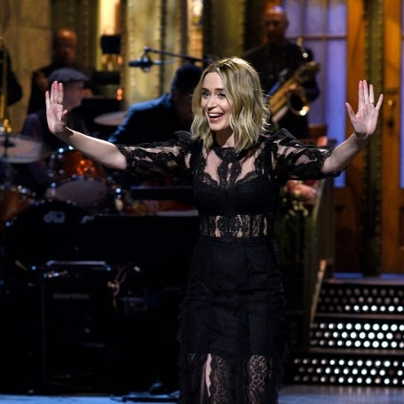 Emily Blunt hosted Saturday Night Live