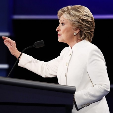 Hillary Clinton Spoke for All Women Who've Been Violated at the Debate