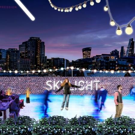 Skylight winter visual