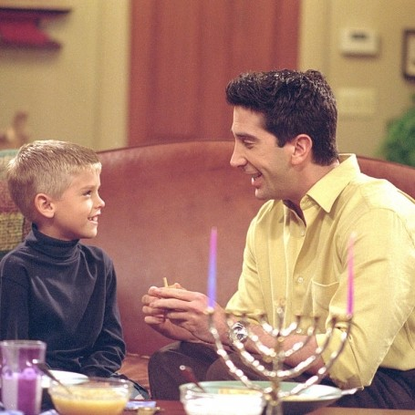 This fan theory about Ross and Ben from Friends is really sad