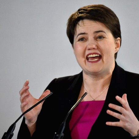 When Red met Ruth Davidson