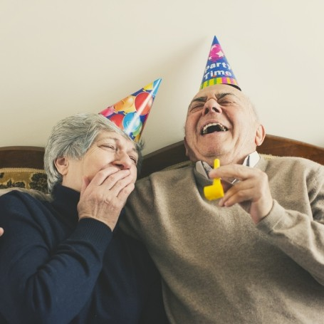 A 102-year-old man has shared the secret to living a long, happy life