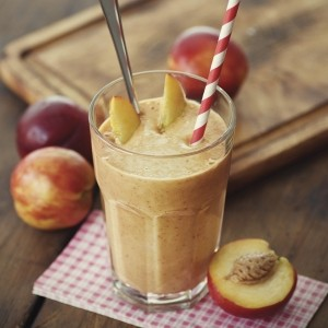 Rooibos and Peach Smoothie