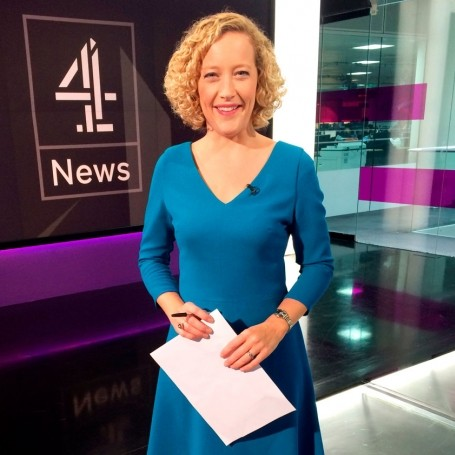 An interview with news presenter Cathy Newman