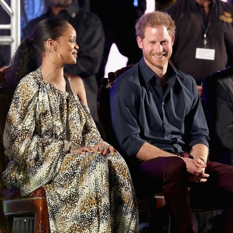 Prince Harry meeting Rihanna is making our heart melt