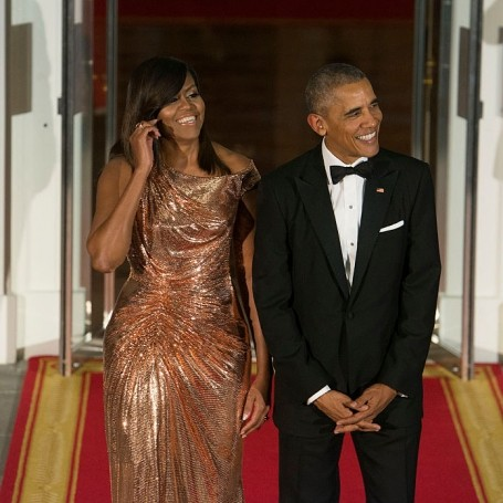 Barack Obama finally puts those Michelle running for President rumours to rest