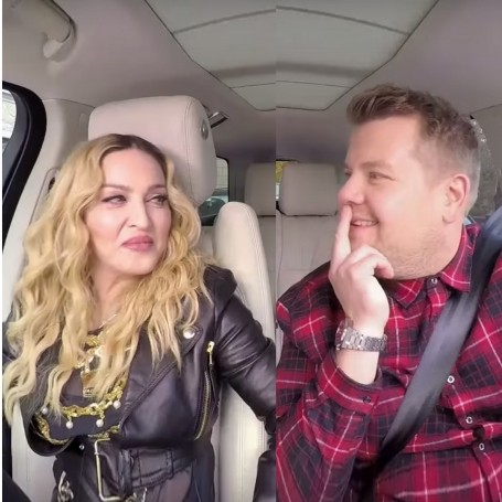 Watch Madonna doing Carpool Karaoke