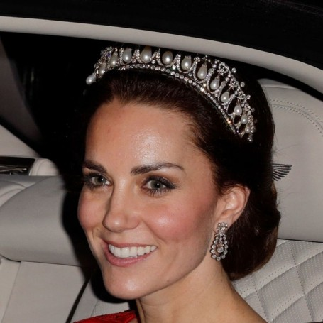 Kate Middleton Wears Princess Diana's Tiara