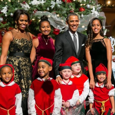The First family look incredible in their final White House Christmas card