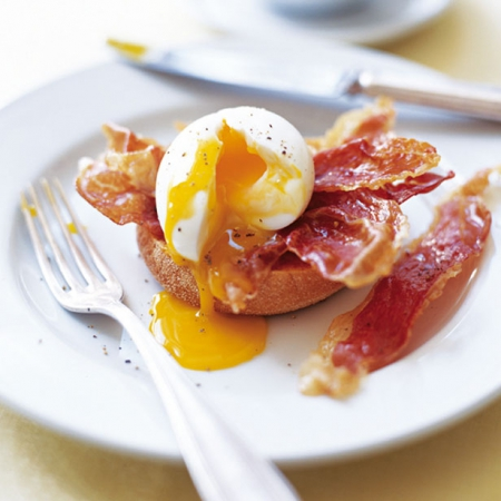 Ham Eggs boiled eggs recipe with parma ham