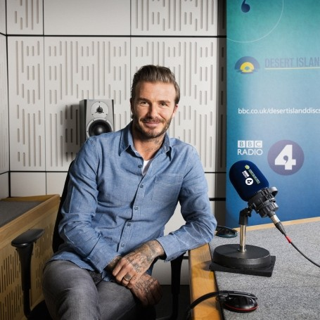 David Beckham will be on Desert Island Disc's 75th anniversary show