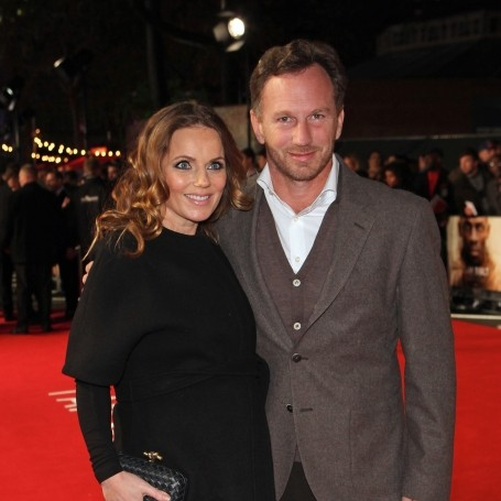 Geri Horner has given birth to a baby boy