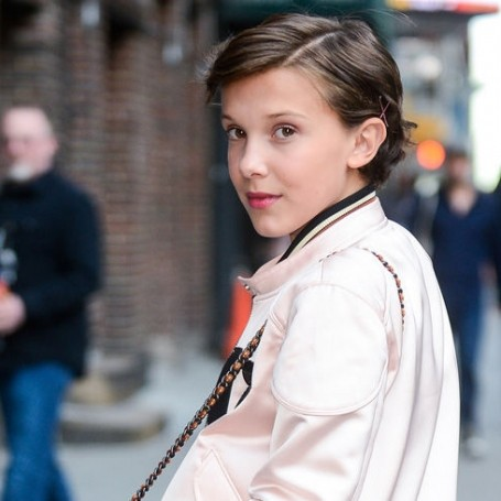 Millie Bobby Brown (aka Eleven) is now a Calvin Klein model