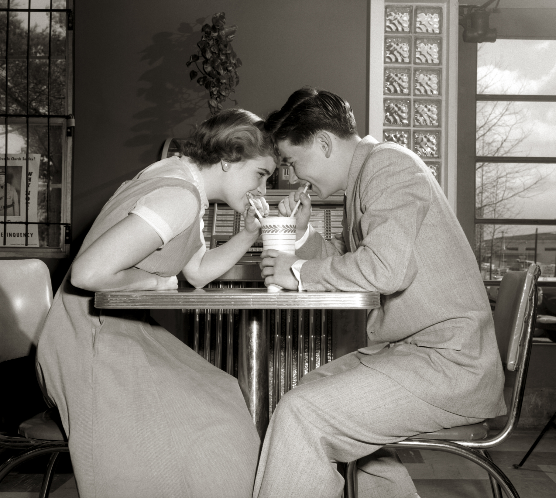 Dating in the 1950s and 1960s