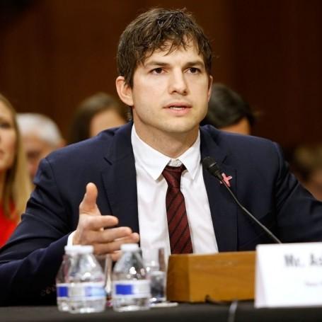 Watch Ashton Kutcher's Incredibly Emotional Senate Speech on Child Trafficking