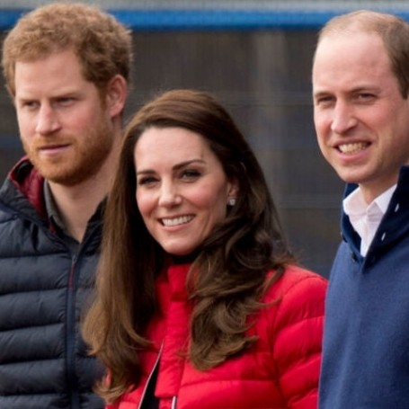 Kate, William and Harry are hosting a party at Buckingham Palace