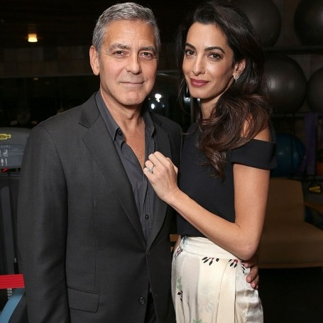 George Clooney says Amal 'will be avoiding places she knows she's not welcome'