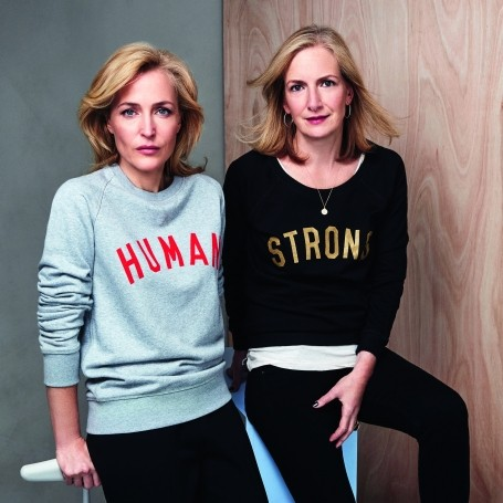 Meet our April cover stars: Gillian Anderson and Jennifer Nadel