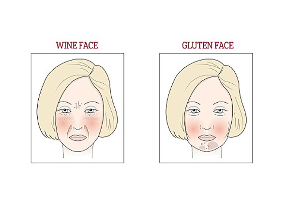 Will order wine facial spots were visited