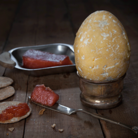You can now buy an Easter egg made of cheese