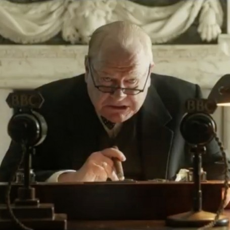Stop everything and watch the first trailer for Churchill