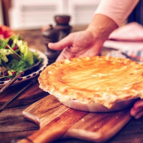 When is a pie really a casserole with a lid?