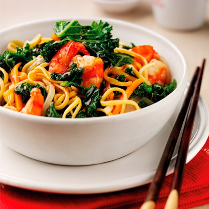 Chinese prawn and kale stir fry chinese recipes red online forumfinder Image collections