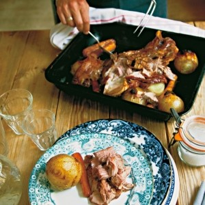 Ginger Pig's slow-roast shoulder of lamb