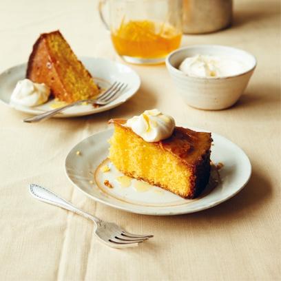 Orange And Semolina Cake