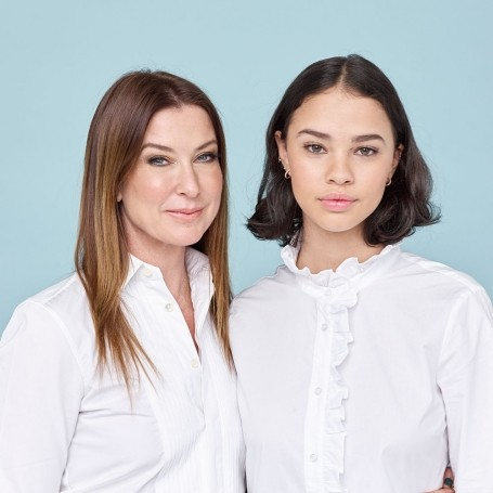 What happens when a mother and daughter swap beauty looks?